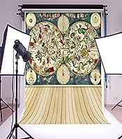 写真撮影背景ビニール5x 7ft Backdrop Studio Props美しいボードパターン個人写真Best Choice