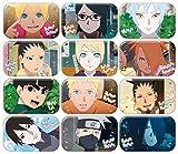ボルト -NARUTO NEXT GENERATIONS- まるかくカンバッジ BOX商品 1BOX=12個入り、全12種類