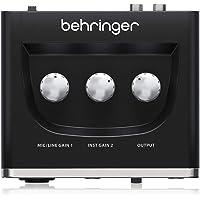 ベリンガー 2入力2出力 USBオーディオインターフェース ブラック 1-Channel UM2 U-PHORIA