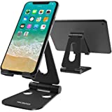 (2 in 1) Tecboss Tablet Stand, Multi-Angle Adjustable Desktop Cell Phone Stand Holder for Nintendo Switch, iPad Mini Air 2 3