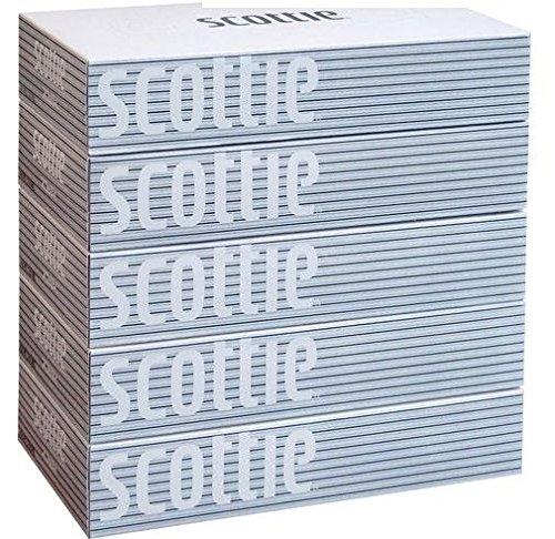 スコッティ ティッシュ 400枚(200組) 5箱入り 19...