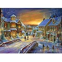 Dirance 5D クリスマステーマ DIY ダイヤモンド絵画セット 16x12 サンタクロース フルドリル刺繍 ラインストーン ペインティング クロスステッチキット ウォールステッカー ウォールデコ アートクラフト リビングルーム装飾 Regular Dirance