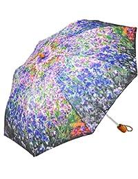レディース 傘 おしゃれな 名画シリーズ 49cm 折りたたみ傘 モネ スプリングガーデン
