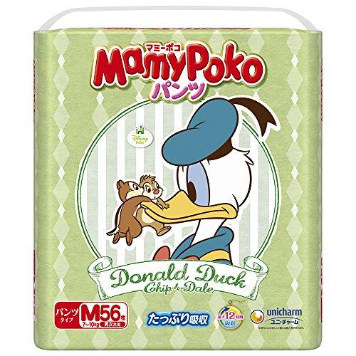 【Amazon.co.jp限定】マミーポコパンツ Mサイズ(7~10kg) 56枚(ディズニー限定デザイン)