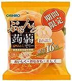 オリヒロプランデュ ぷるんと蒟蒻ゼリーパウチ 温州みかん 20gx6個×6袋の商品画像