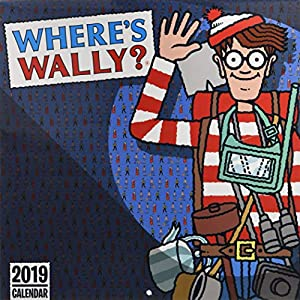 Where's Wally? - Wo ist Walter 2019: Original Carousel-Kalender