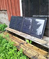 GOWE 1pc/lot High Efficiency Foldable Solar Charger for Laptop, iPhone, Blackberry, PSP with 40W Solar Panel