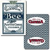 トランプ Bee(ビー)92 ポーカーサイズ ガネーシャ ブルー