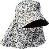 (リワード) REWARD 日よけカバー 帽子 UVカット 紫外線対策 日焼け防止 農作業 リバーシブル (ブラック)