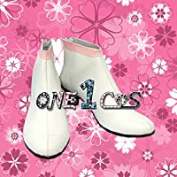【サイズ選択可】コスプレ靴 ブーツ 12L1401 機動戦士ガンダムSEED Destiny ラクス 女性22.5CM