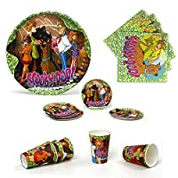 Scooby Doo–誕生日and Party Tableware Pack for 5子