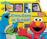 Sesame Street: Elmo Goes to School! (Lift-the-Flap)
