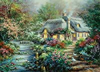 Little River Cottage, A Large 1000 Piece Jigsaw Puzzle By SunsOut