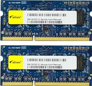 【Amazon.co.jp限定】シー・エフ・デー販売 ノートPC用メモリ DDR3 SO-DIMM PC3-12800 CL11 8GB 2枚組  W3N1600Q-8G/N 【フラストレーションフリーパッケージ(FFP)】