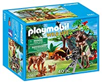 Playmobil Wildlife Lynx Family with Cameraman