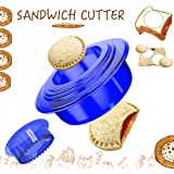 OHYGGE Uncrustables Sandwich Maker - Sandwich Cutter for Kids - Sandwich Cutter and Sealer for Lunchbox and Bento Box - Boys