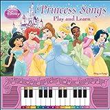 Disney Princess Songs Play and Learn ディズニープリンセス ピアノ ボードブック