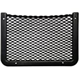 """Framed Stretch Mesh Net Pocket for Auto, RV, or Home Organization and Storage (8"""" x 11"""")"""