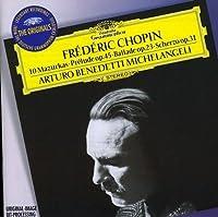 10 Mazurkas / Prelude Op. 45 / Ballade Op. 23 by ARTURO BENEDETTI MICHELANGELI (2009-01-26)