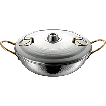 和平フレイズ しゃぶしゃぶ鍋 26cm 暖楽鍋 ステンレスDR-4222