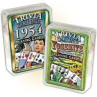 Flickbackメディア, Inc 1954 Triva Playing Cards &ヨセミテ国立公園Trivia Playingカードコンボ: Happy 64th誕生日