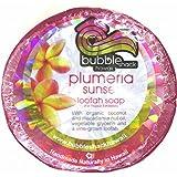 ハワイアン雑貨/ハワイ 雑貨【バブルシャック】Bubble Shack Hawaii ルーファーソープ(プルメリア) 【お土産】
