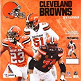 Cleveland Browns 2018 Calendar: Full-action Poster-sized Images!