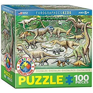 Eurographics恐竜ジグソーパズル( 100-piece )