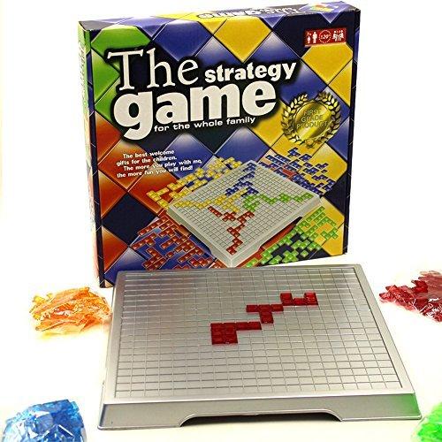 Hanaure The strategy game ブロックス blokus 2~4人用 フランス生まれの陣取りゲーム 大人・子供向けおもちゃ テーブルボードゲーム パズル 海外版