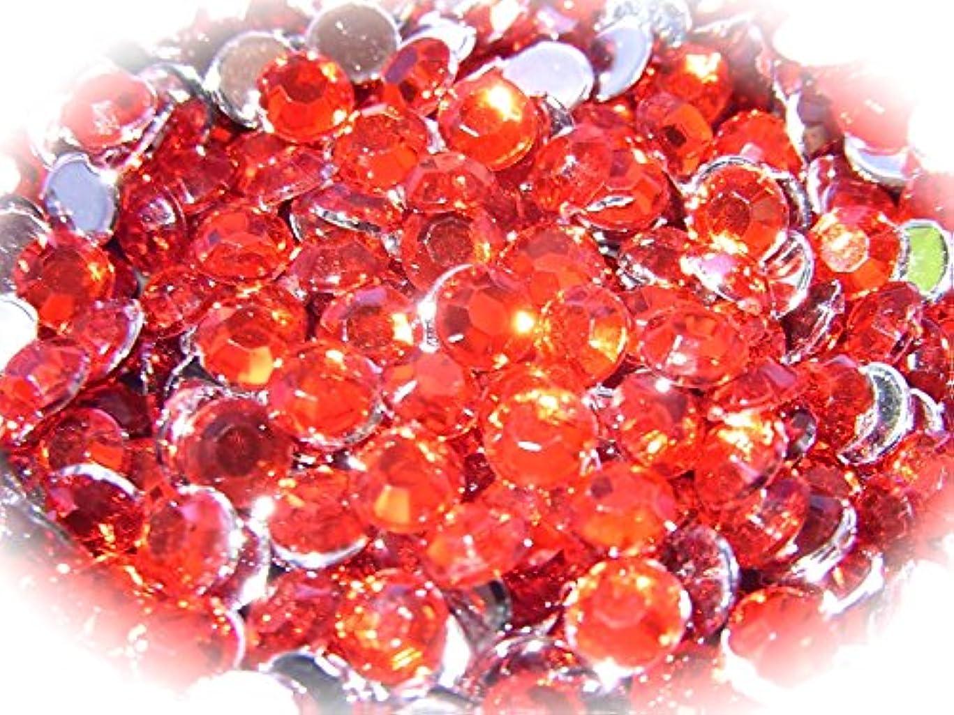 ご近所メアリアンジョーンズ友情【jewel】ls1 最高品質 ラインストーン 1.5mm?5mm グルーデコ (1.5mm(300粒), レッド)
