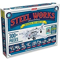 Steel Works Mechanical Multi Model Set - Construct Real Working Action Toys