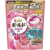 ボールド 洗濯洗剤 ジェルボール3D 癒しのプレミアムブロッサムの香り 詰め替え 超特大 34個入 × 3個