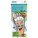 アズマ 足用シート 足ゆびちゃん20P 約16.5×7cm※左右両用20枚入 メッシュ状シートが指の間の汗をすばやく吸収。 AZ817
