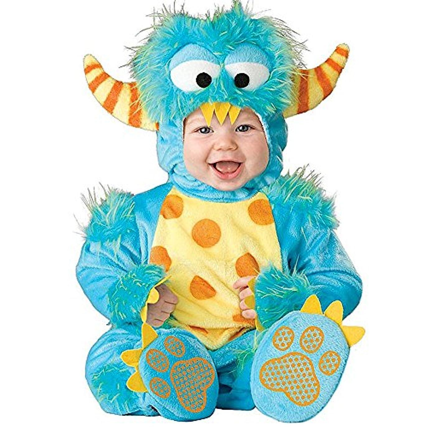 サスティーンブラインドダーツ幼児赤ちゃん幼児男の子ブルーモンスターハロウィンドレスアップコスチューム衣装 (95cm)