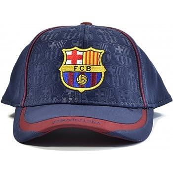 88ddca07cf6 FC BARCELONA OFFICIAL TEAM LOGO CAP   HAT - FCB010 Rhinox CAP-FCB010