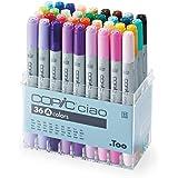 コピック チャオ 36色Aセット 12503003