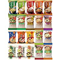 アマノフーズ フリーズドライ 味噌汁 具沢山 たっぷり 20種類40食 セット (即席 みそ汁)