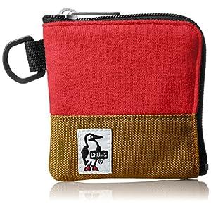 [チャムス] コインケース Square Coin Case Sweat Nylon CH60-0693-R070-00 R070 H-Camellia/Camel