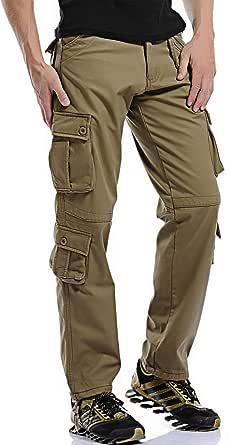 カーゴパンツ メンズ 作業ズボン ゆったり ワークパンツ 多機能 ポケット ワークパンツ 大きいサイズ イージーパンツ チノパン カジュアル ロングパンツ オールシーズン