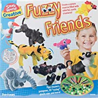 Small World Toys Creative - Fuzzy Friends Craft Kit [並行輸入品]
