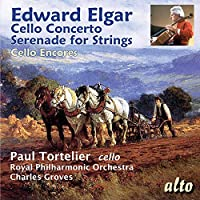 Edward Elgar: Cello Concerto/Serenade For Strings/... by Tortelier (2015-06-15)