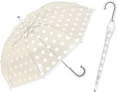 POE水玉ジャンプ傘 60cm  ホワイト <リーベン スベラーズ> 【LIEBEN-0660】