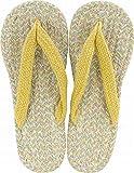 現代百貨 コットンサンダル ルポ イエロー レディース フリーサイズ 約 23~25cm YELLOW 7406-04