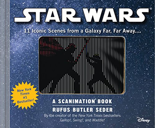 Star Wars: 11 Iconic Scenes from a Galaxy Far, Far Away... (A Scanimation Book)の詳細を見る