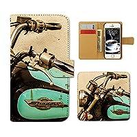 Tiara Disney Mobile on docomo DM-01H スマホケース 手帳型 バイク オートバイ ライダー ロード 手帳ケース カバー [E027103_02]