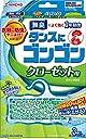 タンスにゴンゴン 衣類の防虫剤 クローゼット用 3個入 無臭 (1年防虫 防カビ ダニよけ)