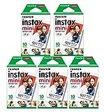 [5セット販売]FUJIFILM インスタントカメラ チェキ用フィルム 10枚入x5セット INSTAX MINI JP 1