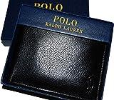 (ポロ ラルフローレン) Polo RalphLauren メンズ レザーウォレット 財布 (BLACK)