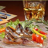 ディメール 燻製の薫りが堪らない 鯖の冷燻 [5枚パック]半身1枚約100g 表面は香ばしく、中はしっとりジューシー生ハム食感