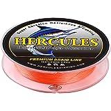 ヘラクレス(HERCULES) PEライン 4本編み 釣りライン 色落ちしない(0.2号 0.4号 0.8号 1号 1.5号 3号 4号 5号 6号 7号 8号 10号 12号)編組ライン(100m 150m 200m 300m 500m 1000m